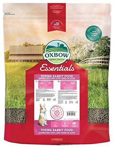 Oxbow Essentials Dry Young Rabbit Food 25 Lbs Walmart Com
