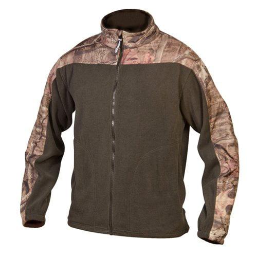 Mossy Oak Camo Accented Fleece Jacket
