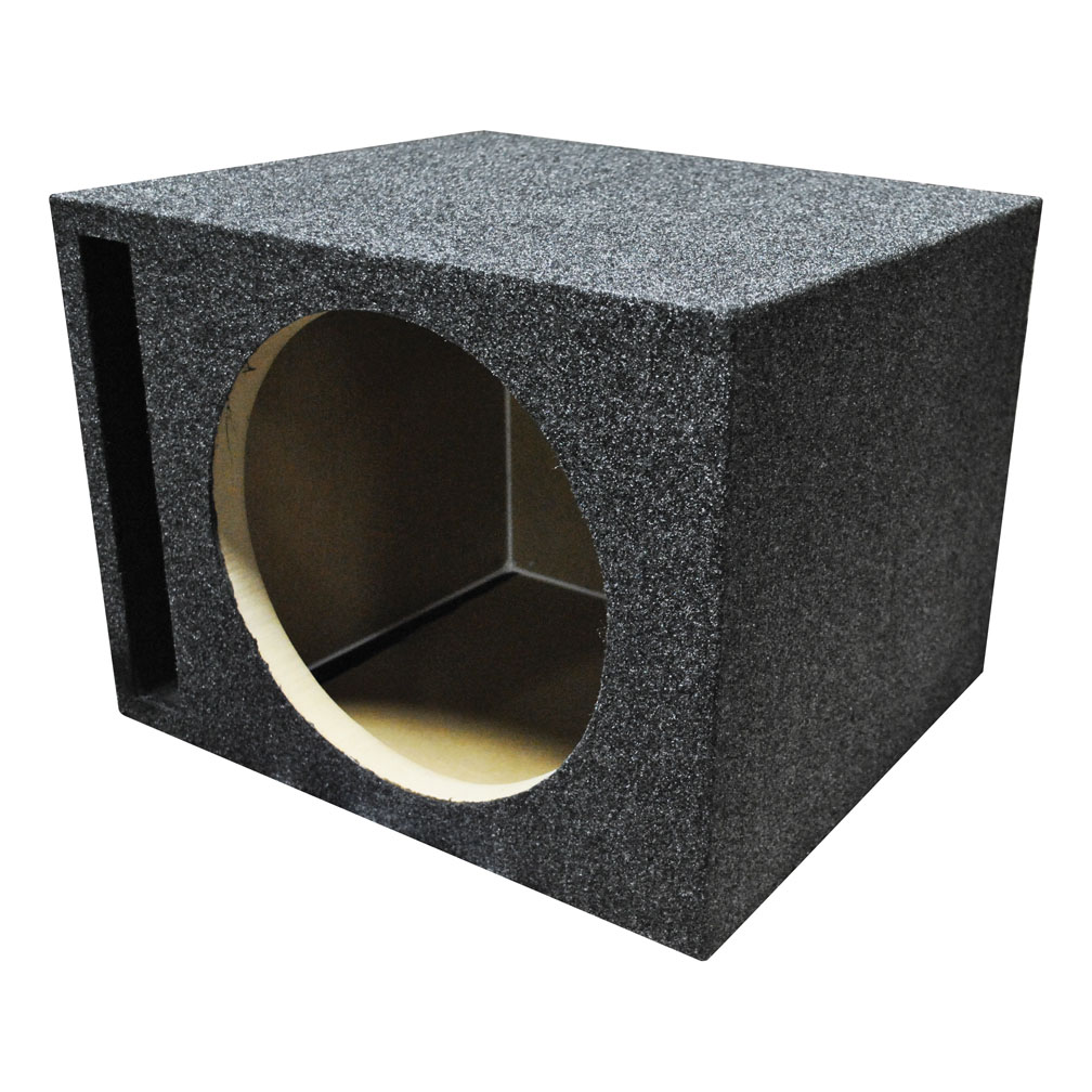 """Qpower Single 15"""" MDF Woofer Box Vented"""