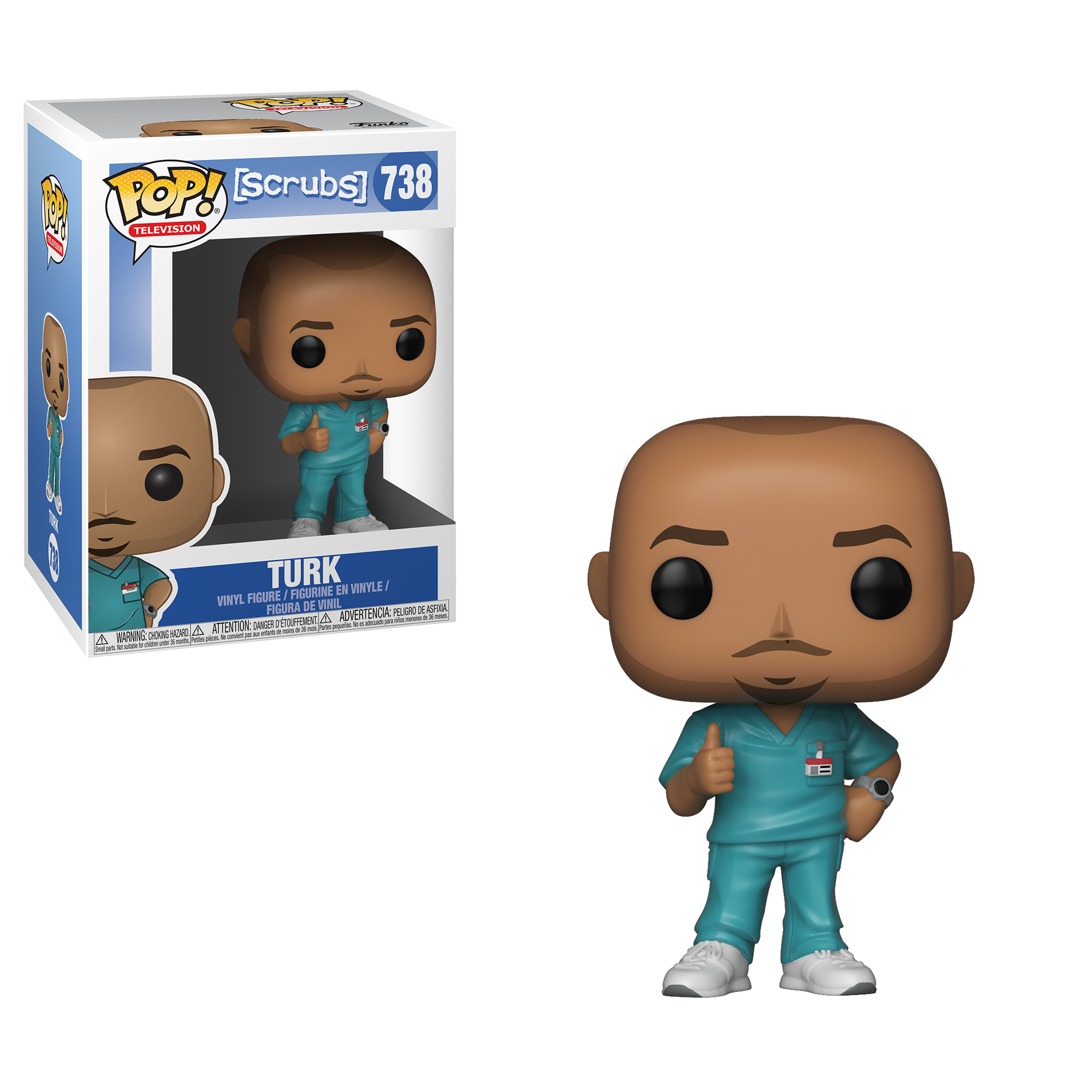 Funko POP! TV: Scrubs - Turk