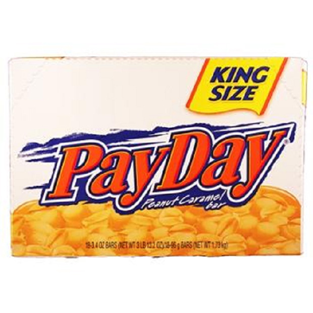 Product Of Payday, King Size Peanut Caramel Bar, Count 18 (3.4 oz) - Chocolate Candy / Grab Varieties & Flavors
