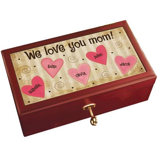 Personalized Mom Keepsake Box