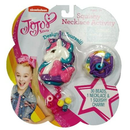 JoJo Siwa Squishy Unicorn Necklace Activity Set - Necklace Supplies