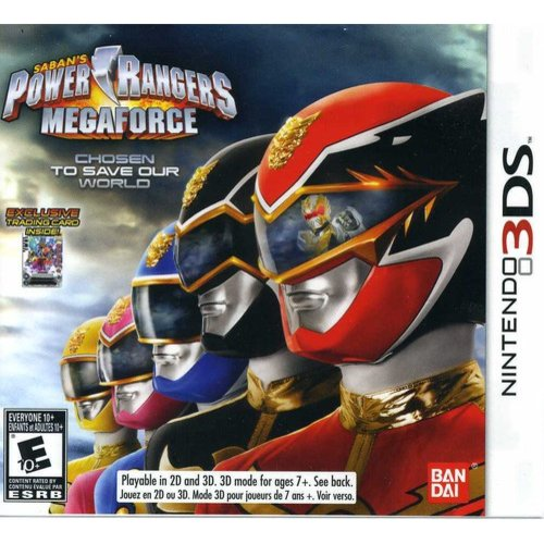 Power Rangers Megaforce (Nintendo 3DS)