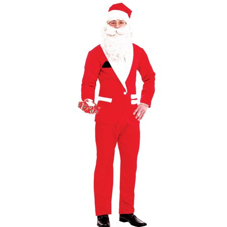 Simply Suited Santa Adult Costume