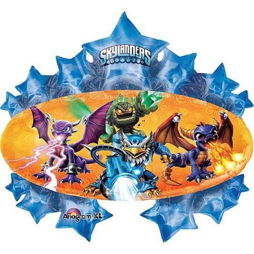 "Skylanders Marquee Shape 35"" Balloon (Each) - Party Supplies"
