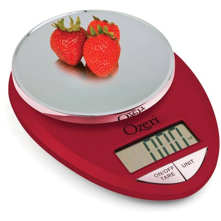 kitchen food scale 1g to 12 lbs capacity red engine
