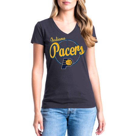 Indiana Pacers Nba Car - NBA Indiana Pacers Paul George Women's Short Sleeve Player Tee