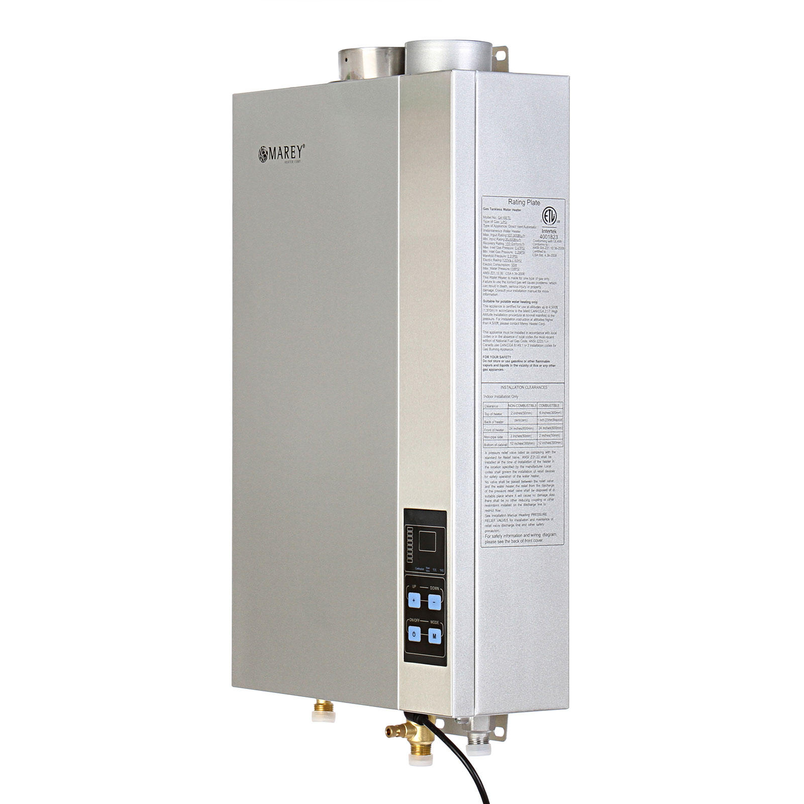 Atmor 13kw 240 Volt 225 Gpm Electric Tankless Water Heater With Home Electrical Wiring Diagrams Pressure Relief Device On Demand