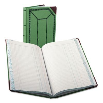 Boorum & Pease Journal with Green and Red Cover