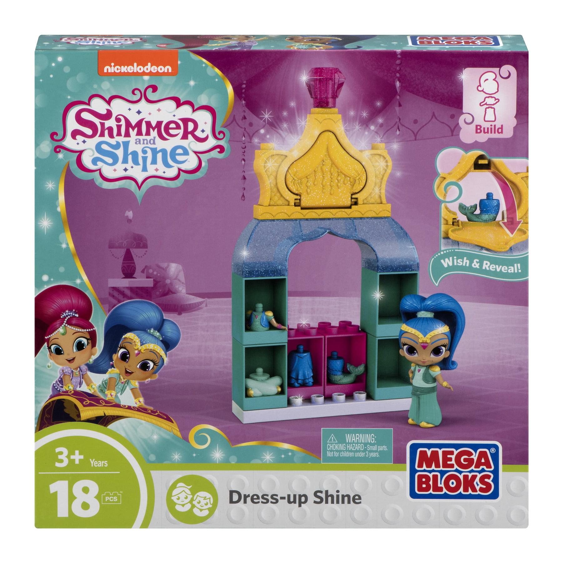 Bloks Shimmer and Shine Mega Dress up Shimmer Bulding Set