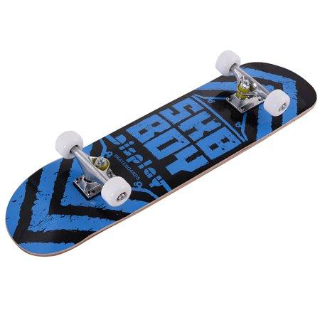 """Costway 31"""" x 8"""" Skateboard Longboard Complete Trucks ..."""