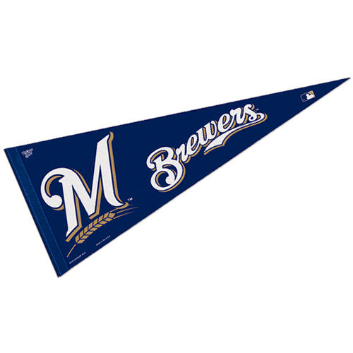 MLB Milwaukee Brewers Full Size Pennant