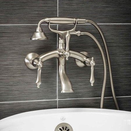 Pelham White Luxury Clawfoot Tub Or Freestanding Tub Filler Faucet