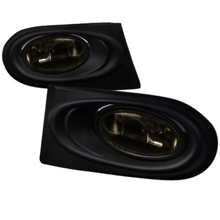 Spec-D Tuning LF-RSX02GOEM-RS Smoke Fog Light for 02 to 04 Acura RSX, 10 x 10 x 12 in.