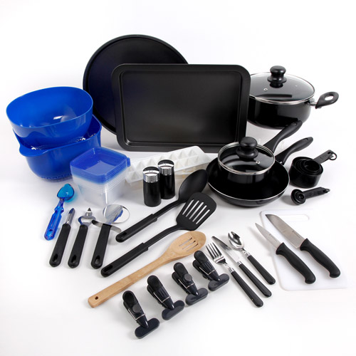 Gibson Home Kitchen Deluxe 59-Piece Cookware Combo Set