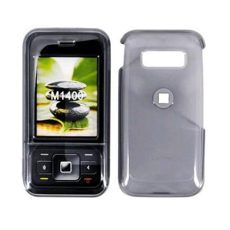 Metropcs Snap On Case For Kyocera M1400  Translucent Smoke
