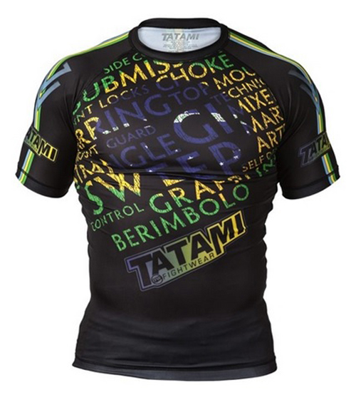 Tatami Fightwear Darkside Short Sleeve Rashguard