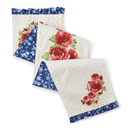The Pioneer Woman Heritage Floral Table Runner, 14
