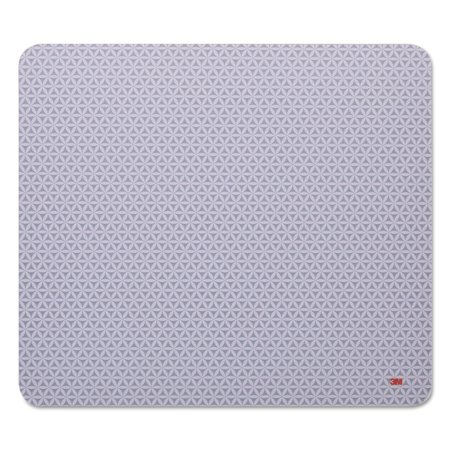 3M Precise Mouse Pad, Nonskid Back, 9 x 8, - 3m Precise Mousing Mouse Pad