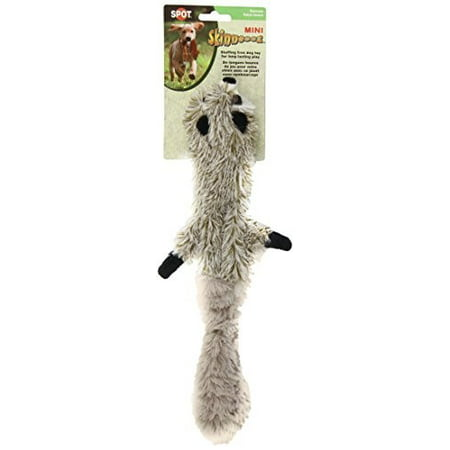 SPOT Plush Skinneeez Raccoon Dog Toy 14