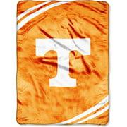 "NCAA 60"" x 80"" Royal Plush Raschel Throw, University of Tennessee"