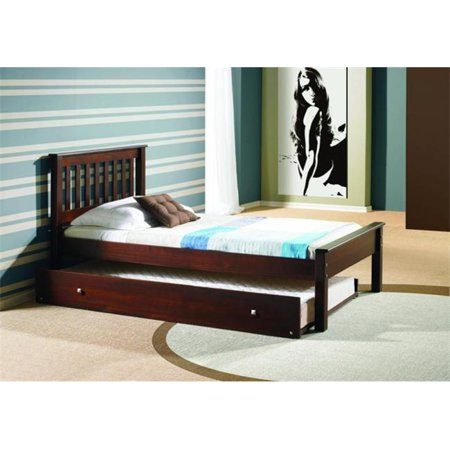 Pd 500tcp 503 Twin Size Contempo Bed With Trundle Slat Kits
