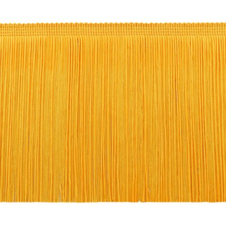 13 5 Yard Value Pack Of 6 Inch Chainette Fringe Trim  Style  Cf06 Color  Flag Gold   Fg  41 Feet   12 5M