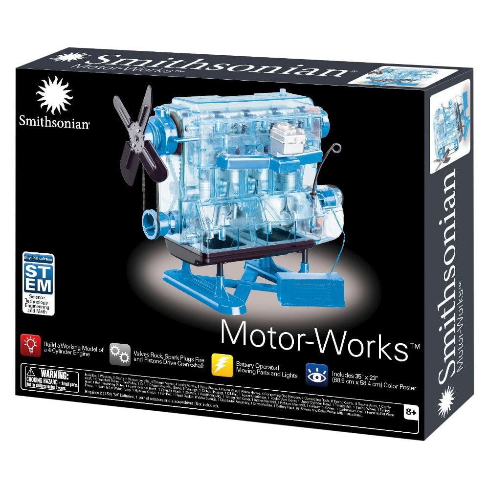 Smithsonian Motor Works Advanced Science Kit Walmart Com Walmart Com