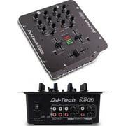 Dj Tech M10USB 2-channel Rack-mountable All Purpose Mixer W/usb & Deckadance Le Dj Software