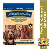 Golden Rewards Sweet Potato Wrapped with Chicken Dog Treats