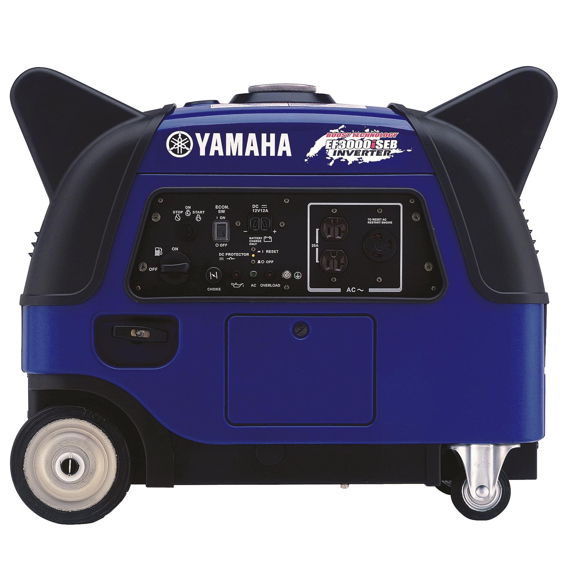 Yamaha EF3000iSEB 3 000 Watt Gas Powered Portable Inverter