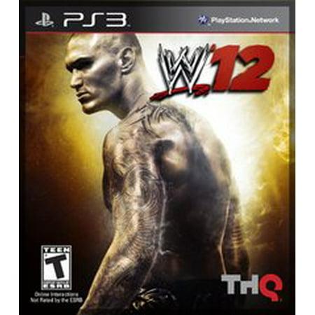 WWE 12 - Playstation 3 (Refurbished)