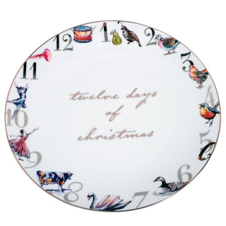 Better Homes And Gardens 12 Days Of Christmas Dinner Plate