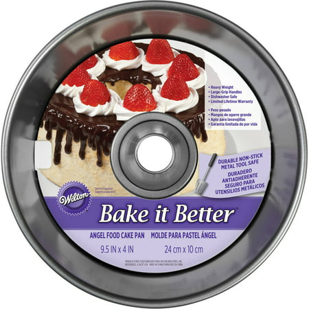 Wilton Bake It Better Angel Food Cake - Halloween Pumpkin Bundt Cake Recipe