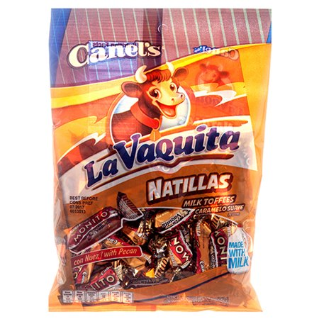 New 357277  Canel's Peg Vaquita Natillas Milk Toffees 5Z (12-Pack) Candy Bag Cheap Wholesale Discount Bulk Candy Candy Bag (New Toffee)