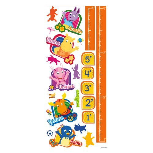 Backyardigans Peel & Stick Growth Chart-RETIRED/LIMITED STOCK