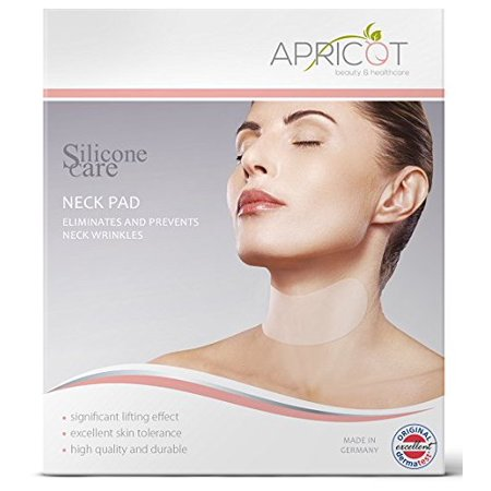 100% Medical Grade Silicone care Neck Pad to Eliminate & Prevent Neck Wrinkles