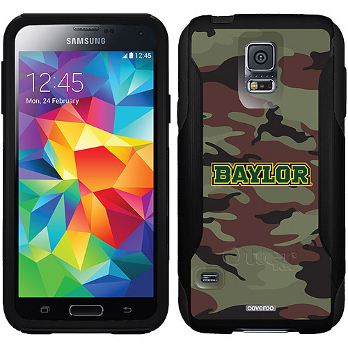Baylor Camo 1 Design on OtterBox Commuter Series Case for Samsung Galaxy S5
