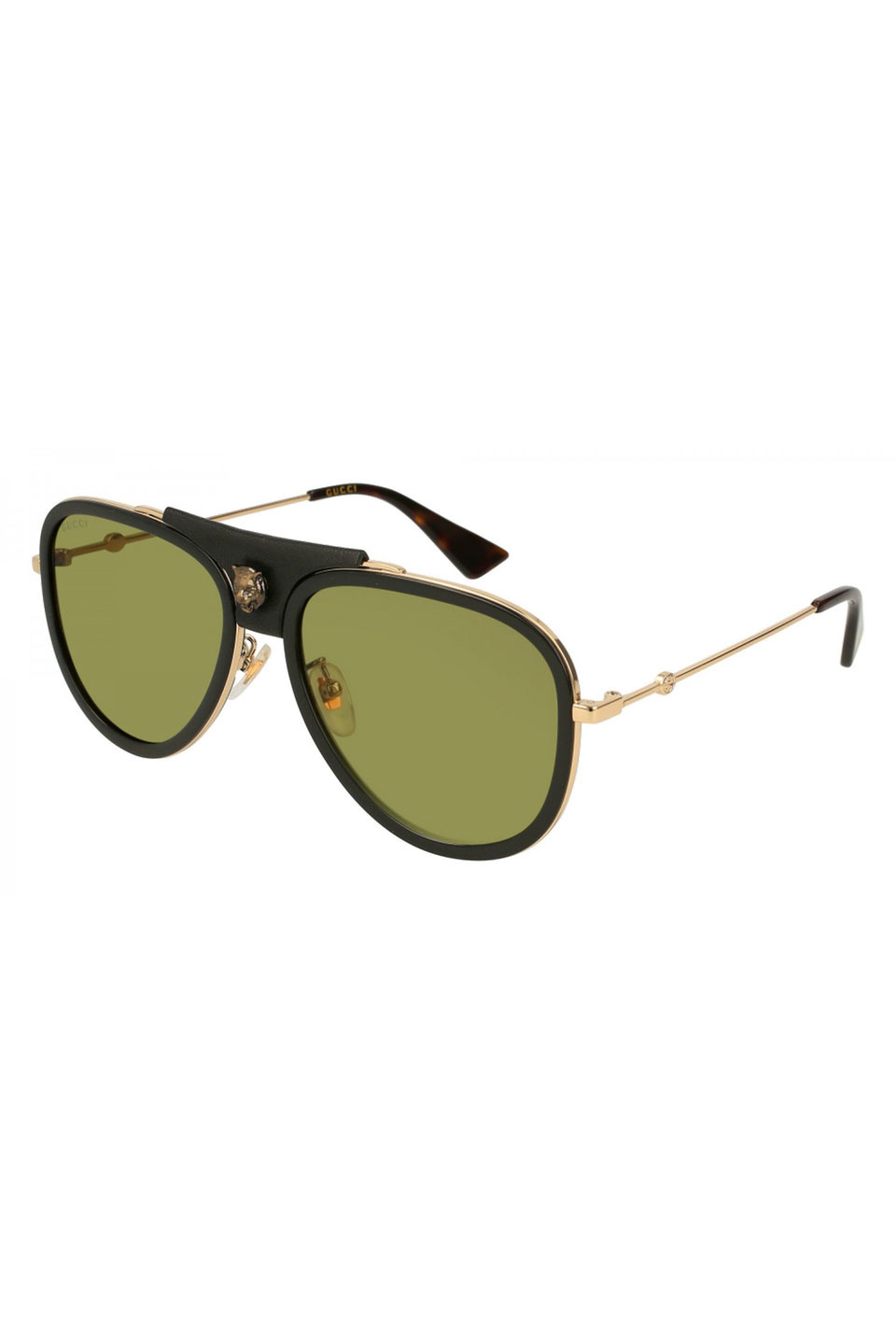 b3462a98e2 Gucci Sunglasses Gg 0062 S- 014 Gold Green