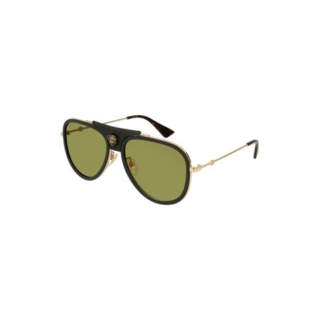 df1cd4446a1 Gucci Sunglasses Gg 0062 S- 014 Gold Green - image 1 of 1 ...