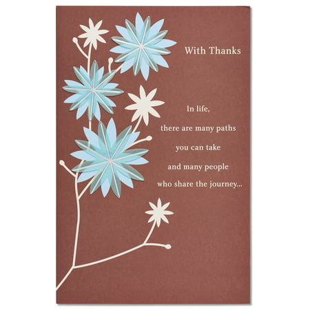 American greetings with thanks thank you card with foil walmart american greetings with thanks thank you card with foil m4hsunfo
