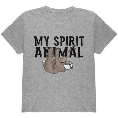 Sloth My Spirit Animal Youth T Shirt