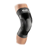 McDavid MD6300 Dual Compression Knee Sleeve, Adult L, CH/BK
