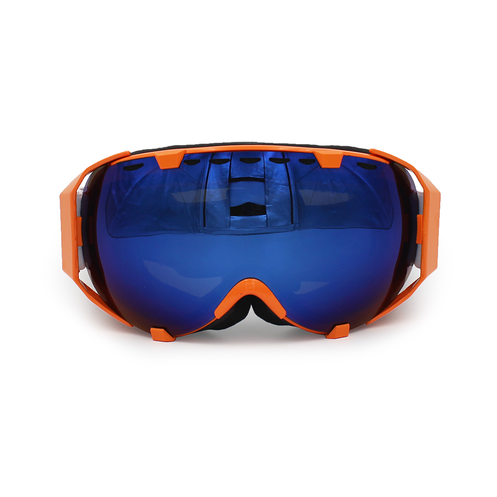 Ediors Windproof Snowmobile Ski Snow Goggles Eyewear Anti Fog Double Lens All Mountain   UV Protection (105-5, Revo... by Ediors