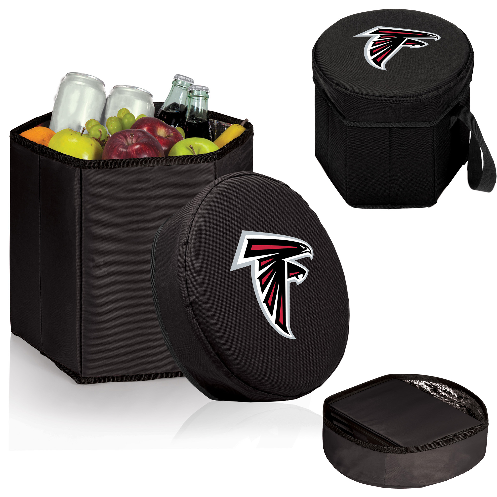 Atlanta Falcons 12 Quart Bongo Cooler - Black - No Size