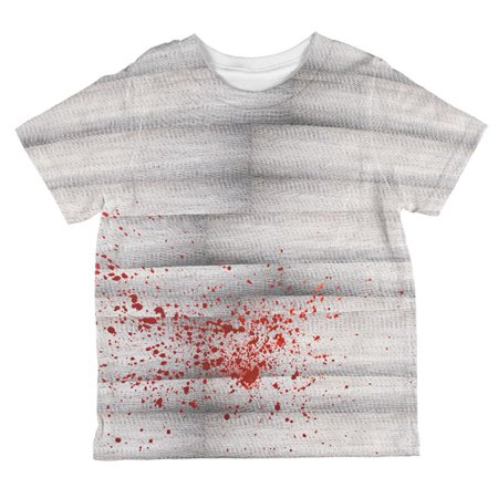 Halloween Bloody Mummy All Over Toddler T Shirt