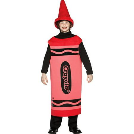 Crayola Red Tween Halloween Costume, Size: Tween Girls' - One Size (Halloween Costumes Tween Girls)