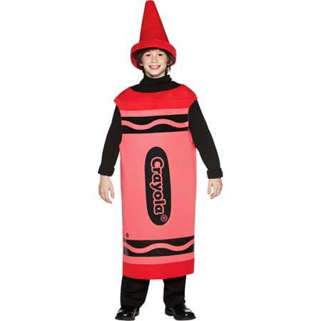 Crayola Red Tween Halloween Costume, Size: Tween Girls' - One Size