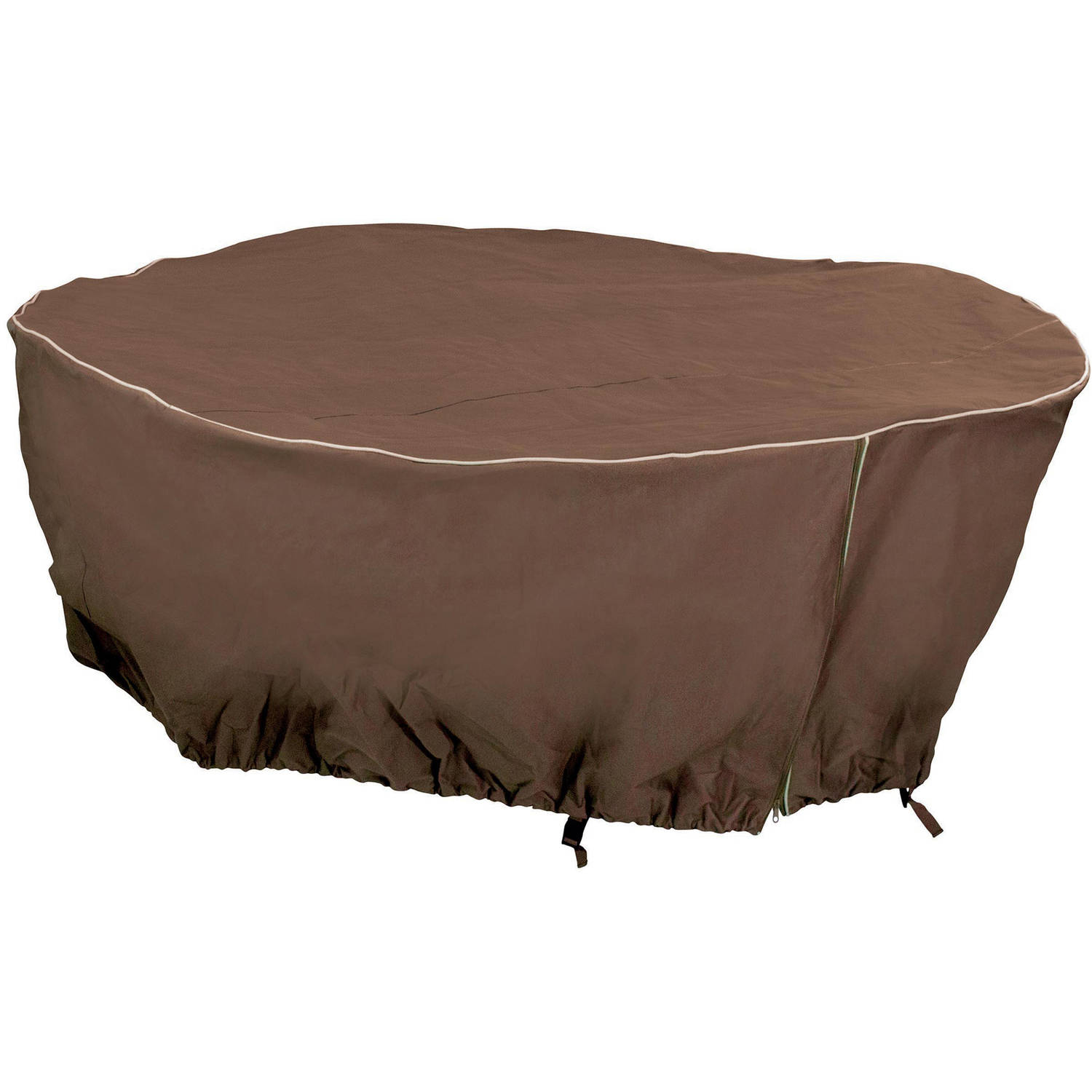 "Armor All Round Table Cover, 80"" x 30"""